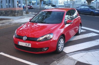 VW GOLF VI 1.6TDI BLUEMOTION