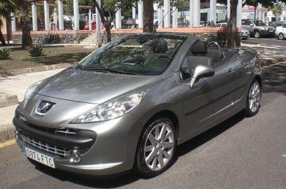 Peugeot 207 cabrio 1.6 THP 150CV